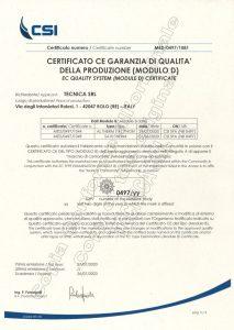Certificato MED 2