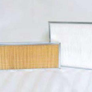 Pannelli filtranti con telaio in acciaio