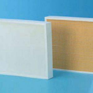 Pannelli filtranti con telaio in plastica (completamente inceneribili)