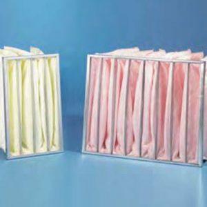 Filtri a tasche in fibra sintetica SOFT POCKET